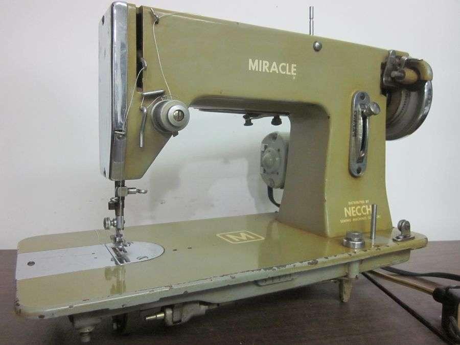 Necchi Miracle Heavy Duty Sewing Machine Denim Vinyl