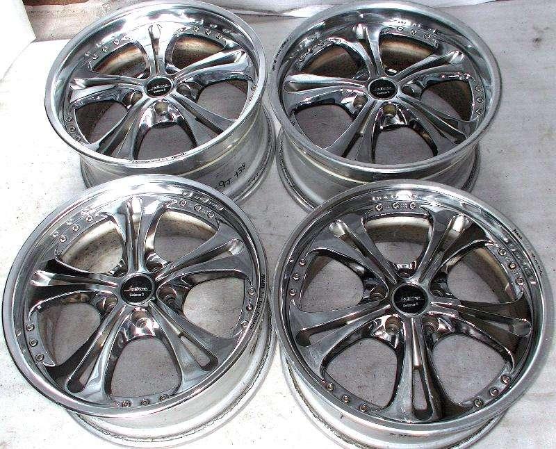 WEDS Kranze CerberusII 18x8J/9J 5x114 Rims Alloy Wheels VR4 R33