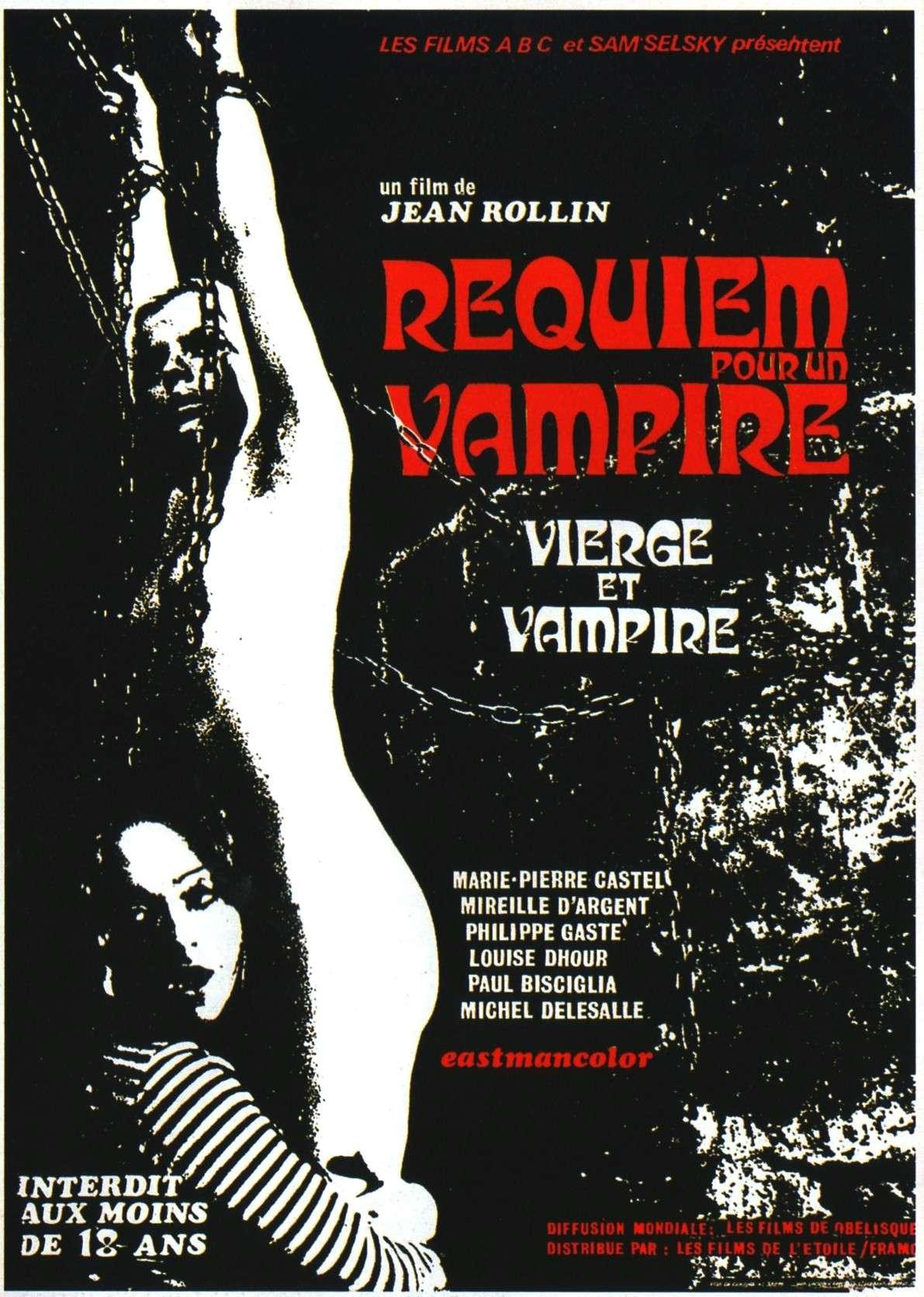 requiemforvampireposter Jean Rollin   Vierges et vampires aka Requiem for a Vampire aka Caged Virgins (1971)