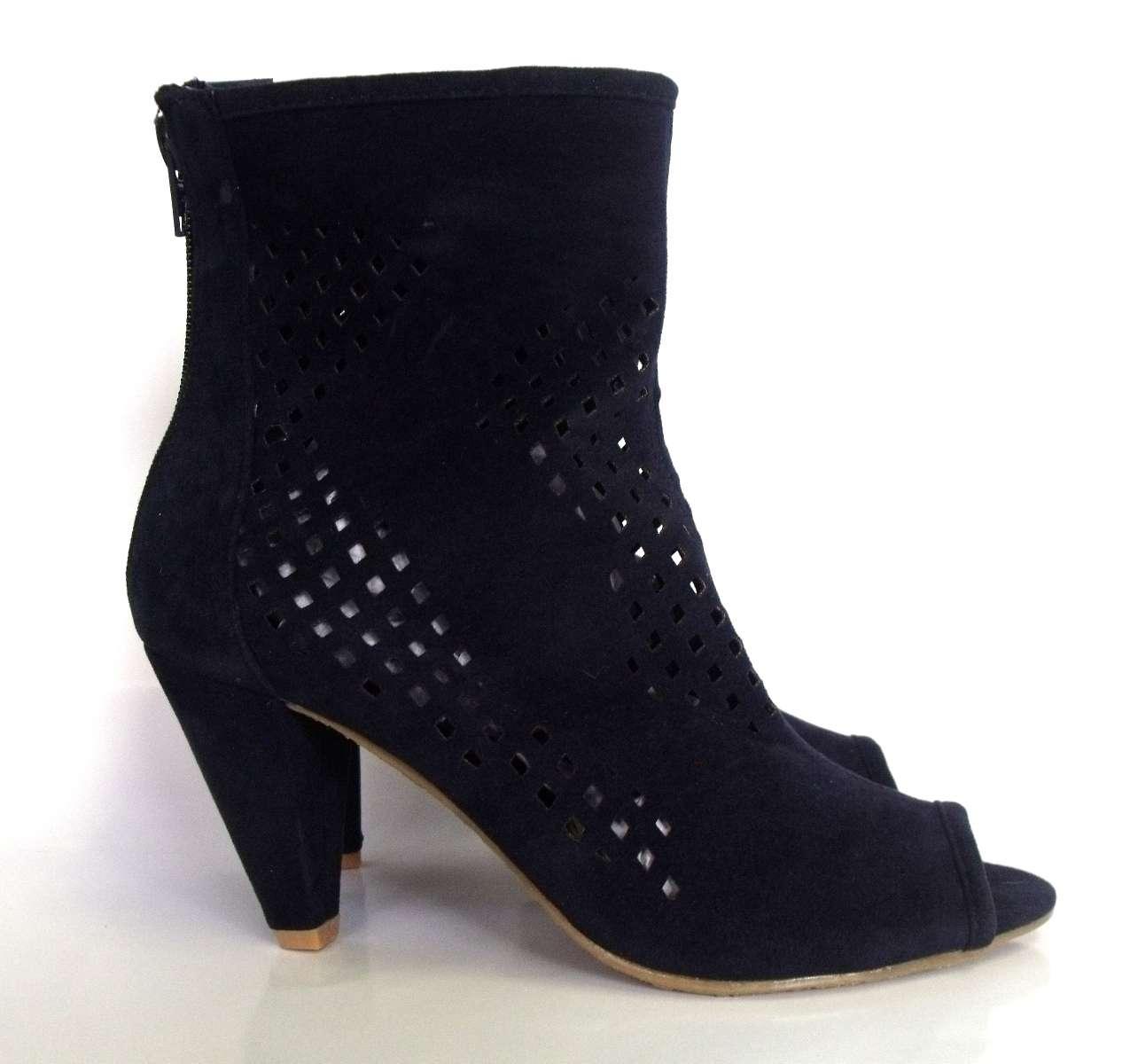 new high heel ankle shoes karmil navy n1002 ebay