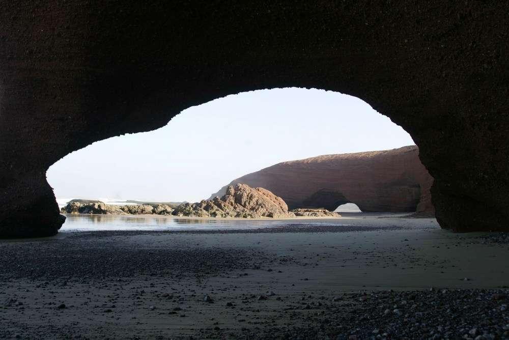 Legzira i wielkie łuki skalne