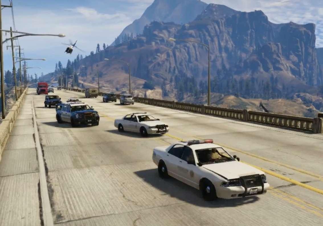 blaine county police gta v