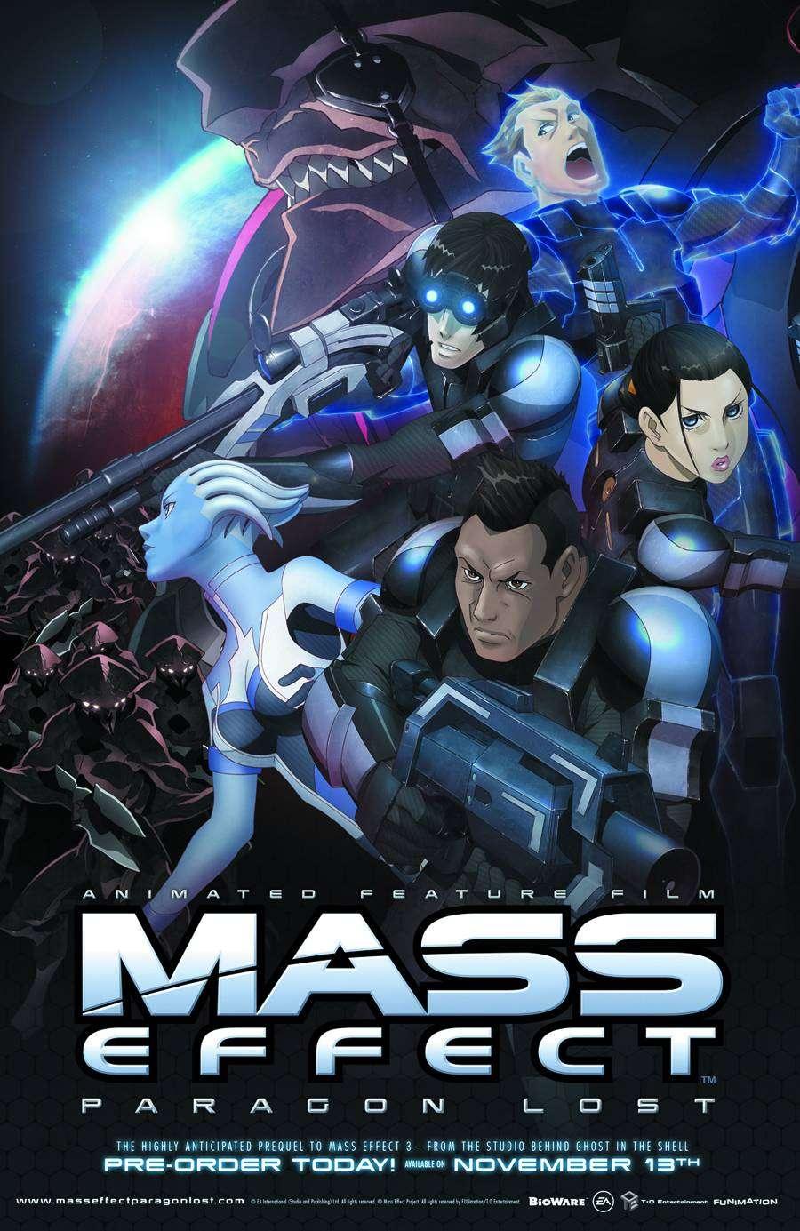 Mass Effect Paragon Lost - 2012 720p BDRip XviD AC3 - Türkçe Altyazılı indir